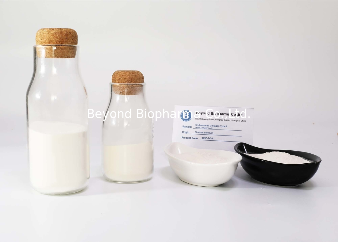 20% Content Undenatured Chicken Collagen Peptides For Producing Collagen Sachets