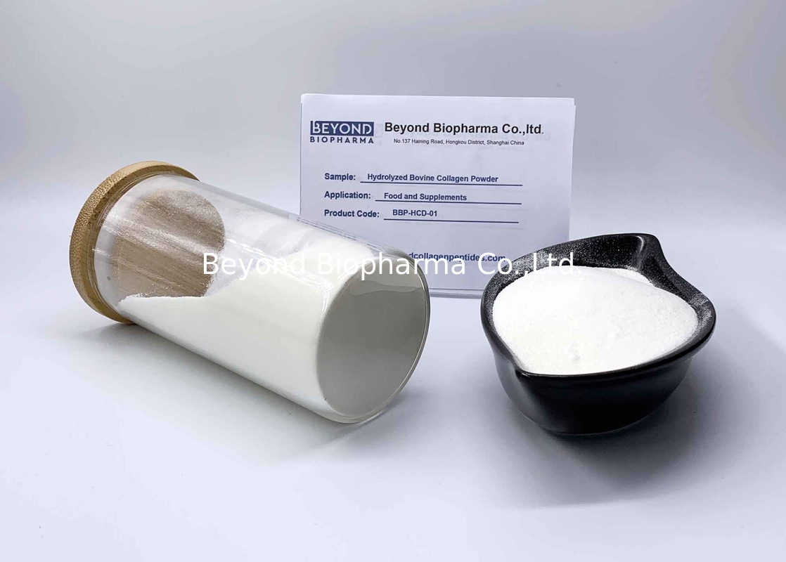Type 1 Hydrolyzed Collagen Powder From Bovine Skin More Than 90% Purity