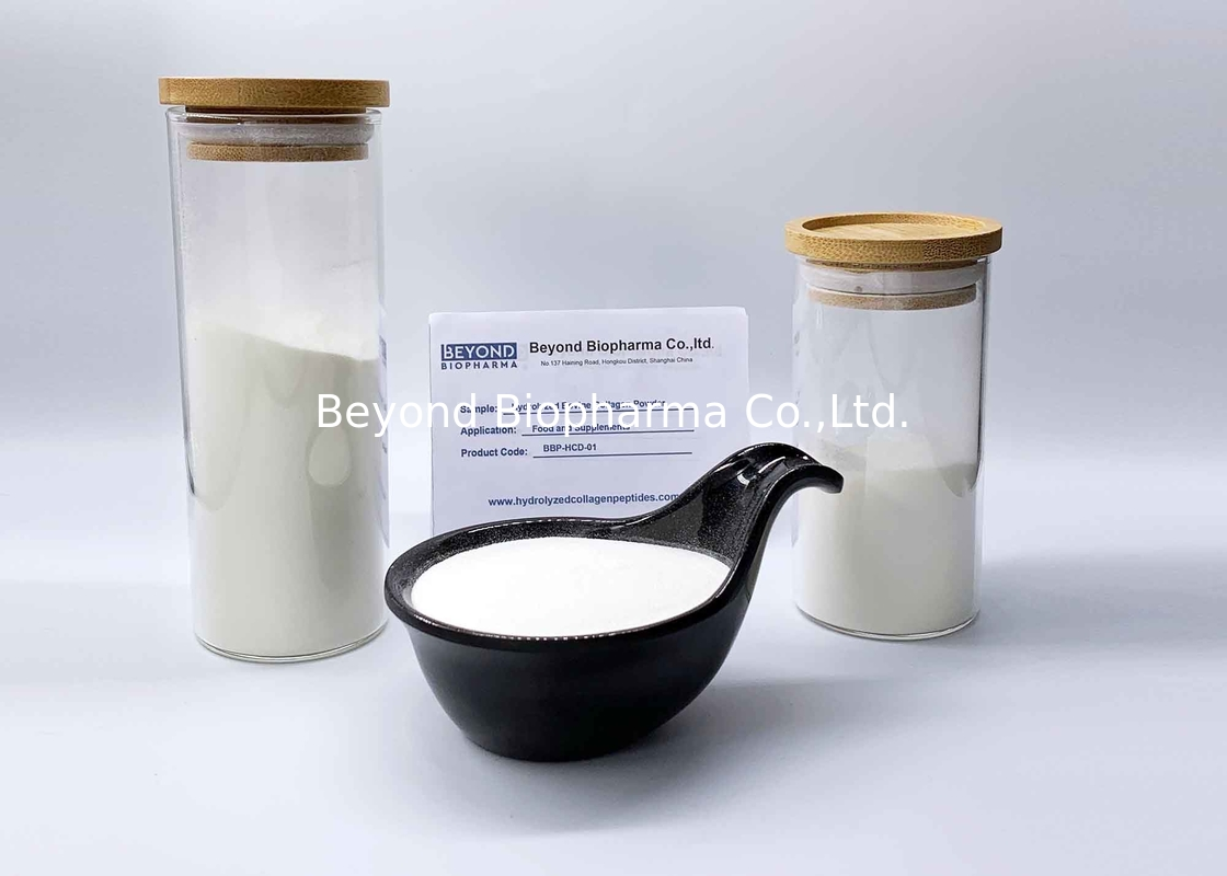 White Hydrolyzed Collagen Powder Collagen Type I From Bovine Skin And Hides
