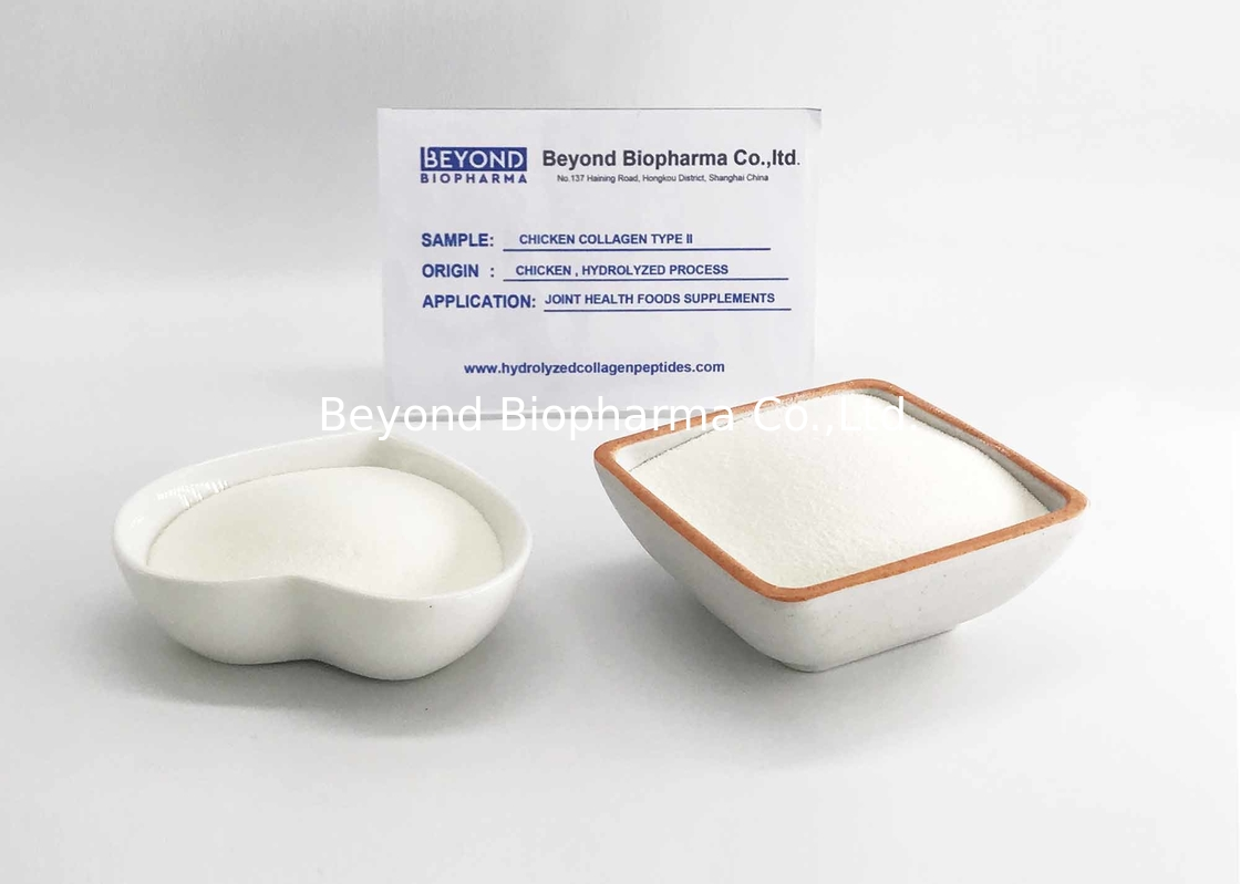 CAS 9007-34-5 Type ii Chicken Collagen Strengthen Bone And Beautify Skin